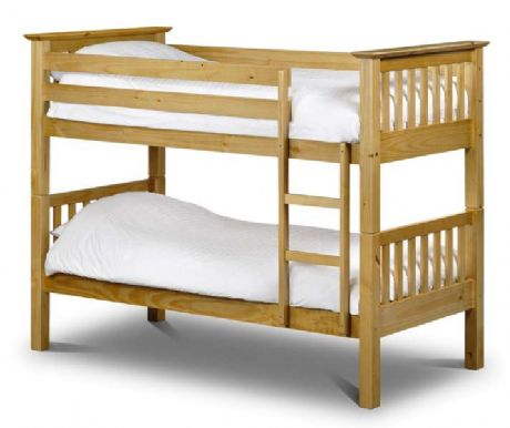 Keswick Pine Bunk Bed End Sale Now On Your Price Furniture